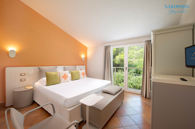 2 Doppelzimmer Cottage Classic 6P